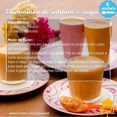 Aqui esta a receita da semana. #tánaépoca #danoninhodeinhame #comidasaudavel #introduçãoalimentar