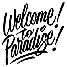 First full day of Pow! Wow! Hawaii. Some lettering done for the event. #welcometoparadise #lettering #powwowhawaii #powwowhawaii2015