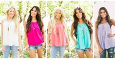 *HOT* Pleated Sleeveless Chiffon Top, 10 Colors! #Jane | Get FREE Samples by Mail | Free Stuff