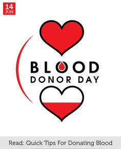 Jun 14 - Blood Donor Day