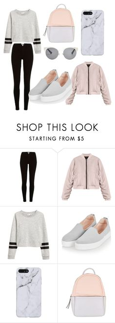 """Untitled #2"" by aleksandradimitrova6 ❤ liked on Polyvore featuring River Island, Topshop, Calvin Klein and Christian Dior"