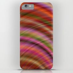 Colorful abstract iPhone 6 Plus Slim Case