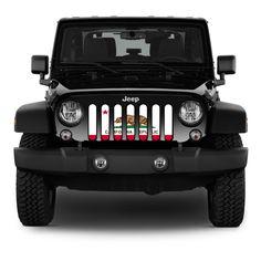 Rugged Ridges Front Grille W// Plain Insert Kit For 07-/'17 Jeep Wrangler JK