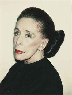 Images of Marrtha Graham | Martha Graham - Andy Warhol - WikiPaintings.org
