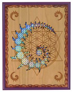 The Flower of Life, The Golden Mean, The Fibonacci Sequence and more revealed through Sacred Geometry ---> Great tools for light-workers. Sacred Geometry Art, Sacred Art, Geometry Tattoo, Crop Circles, Kundalini, Platonic Solid, Psy Art, Visionary Art, Geometric Art
