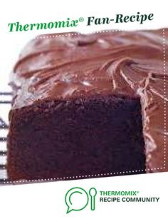 Recipe BLACK MAGIC MUD CAKE by Thermomistress, learn to make this recipe easily in your kitchen machine and discover other Thermomix recipes in Baking - sweet. Sweet Recipes, Cake Recipes, Magic Mud, Thermomix Desserts, Mud Cake, Biscuit Cake, Bread Bun, No Bake Treats, Bellini