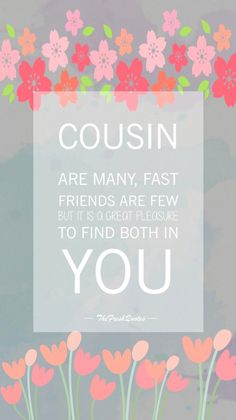 Cute and Funny Cousins Quotes with Images — Centralofsuccess Cute Cousin Quotes, Cousin Love, Sister Quotes, Family Quotes, Cousins Quotes, Me Quotes, Funny Quotes, Quotes Images, Cousin Birthday