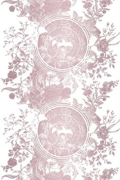 Timorous Beasties Wallcoverings - Tree of Life Solid Wallcovering