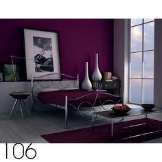 Κρεβάτι-Bed's   Τσινός Παντελής & Υιοί Ο.Ε. Purple Interior, Room Interior, Interior Design, Modern Bedroom Design, Modern Room, Modern Design, Aubergine Bedroom, White Bedroom Decor, Bedroom Ideas