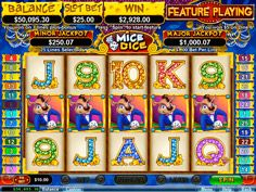 Mice Dice Video Slots