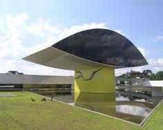 Museu Oscar Niemeyer em Curitiba  Brasil
