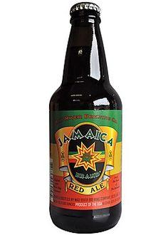 Cerveja Jamaica Red Ale, estilo Irish Red Ale, produzida por Mad River Brewing, Estados Unidos. 6.5% ABV de álcool.