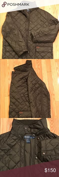 Polo Ralph Lauren Jacket Quilted men's jacket, gently used Polo by Ralph Lauren Jackets & Coats Lightweight & Shirt Jackets