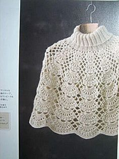 Crochet Poncho Patterns, Crochet Shawl, Granny Square Poncho, Mochila Crochet, Crochet Baby Clothes, Baby Blanket Crochet, Knitwear, Couture, Women