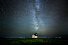Varhaug old Chapel I Still Love You, Outer Space, Northern Lights, Universe, Nature, Travel, Beautiful, Art, Space