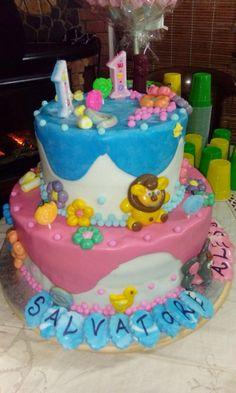 #torta1compleanno#gemelli