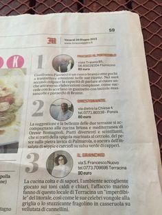 Orestorante #Il Messaggero#Oreste#Chef