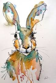 Image result for hare paintings