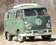 Once a Volkswagen girl, always a Volkswagen girl. Someday I'll own you, Westfalia.