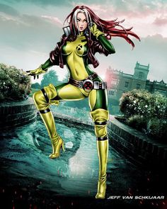 Rogue done by Jeffery10 from deviant art.com  #rogue ##marvelart #deviantart #xmen #comics #comicbooks #comicbookart #epic #wow #art #awesome #avengers #great #legendary #instalike #incredible #instafollow #deviantart #galacticgamer by galacticgamer_
