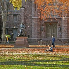 From our friends at Yale  @yale - Happy December 1st. The remnants of #fall on old campus. #Yale #goviewyou