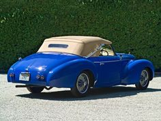 1949 Talbot Lago T26 Record Drophead Coupe