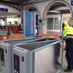 Before we begin an installation, we ensure our products have under gone extensive quality checks! We want our product to deliver on all the areas we have promised so we pride ourselves on supplying our users with top quality bicycle lockers that are safe, smart and secure. #Bicycle #BicycleParking #Quality #Safe #SmartBikeLockers #BikeTheft