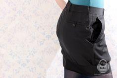 Los pantalones de la falda