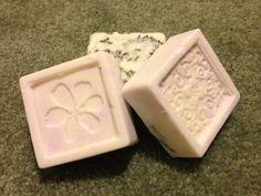 Lavender melt and pour soaps