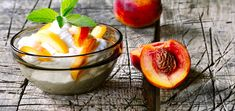 Get ready to gush over this classic raw vegan peaches and cream, a summer classic with a heavenly combination of tartness and sweetness.
