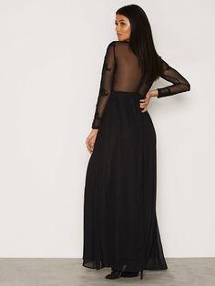 L/S Lace Detailed Dress