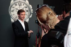 David Kross Photos - German actor David Kross arrives for the 'League of Gentlemen' - launch of the Calibre de Cartier chronograph at Heart Club on July 11, 2013 in Munich, Germany. - Arrivals at the 'League of Gentlemen' Launch League Of Gentlemen, Munich Germany, July 11, Home Photo, Cartier, Chronograph, Gentleman, Product Launch, David