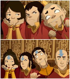 avatar the last airbender I suppose some things never change :) Avatar Aang, Avatar The Last Airbender Funny, Avatar Legend Of Aang, The Last Avatar, Avatar Funny, Avatar Airbender, Team Avatar, The Legend Of Korra, Avatar Characters