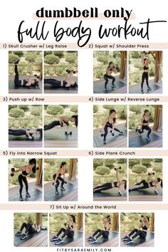 Dumbbell Only Full Body Workout