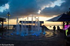Today's Post at Imagery Photography...Fountains at Sunset