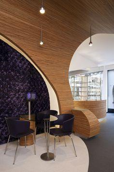 Hofstede Optiek by Alexander Nowotny, The Hague eyewear store design