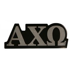 Alpha Chi Omega Chrome Magnet available now from AlphaChiOmegaStore.com.