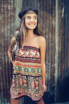 I love her dress!