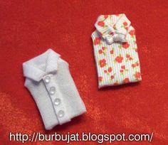 TUS MINIATURAS - folded shirts how to