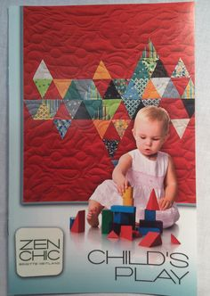 Child's Play by Zen Chic by SewWille on Etsy https://www.etsy.com/listing/217104283/childs-play-by-zen-chic