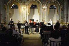 Syntagma Musicum. Jueves 3 de Setiembre en el Foyer del Teatro Nacional. 5 pm