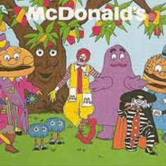 The 80's McDonalds gang