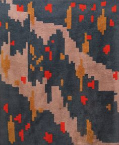 hand-knotted wool at treadway / toomey gallery