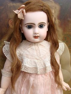 As found very sweet antique Jumeau Bebe.