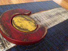 Rustic Distressed Colorado flag Key rack by CraigMoodieDesigns