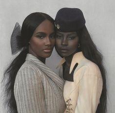 Beautiful Dark Skinned Women, Beautiful Black Girl, Black Girl Magic, Black Girls, Pretty People, Beautiful People, Beautiful Pictures, Dark Skin Beauty, Black Beauty