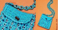Bolsa de Praia Princesinha de Lacre Azul