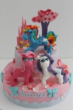 http://www.viorica-torturi.ro/ cake my little pony cake birthday party cake girl pink blue rainbow