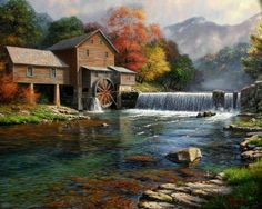 Mark Keathley - The Old mill