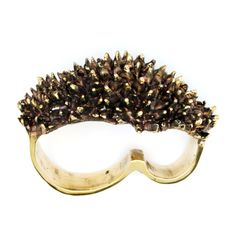 Spike Ring - 3 Finger Ring - Brass Knuckle Duster Spike - Brass Knuckles on Etsy, £88.06